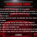 Regras Zero Tabus